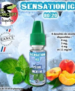 eliquide-sensation-ice-peche-menthe
