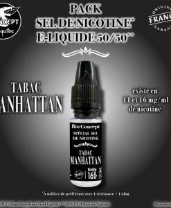 eliquide-tabac-manhattan-sel-de-nicotine