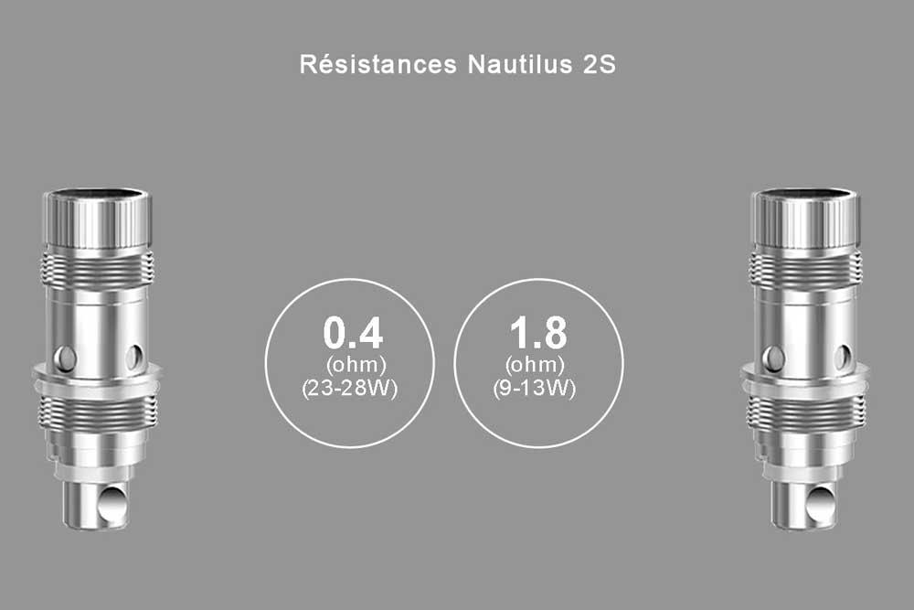 Aspire-Nautilus-2S-resistances