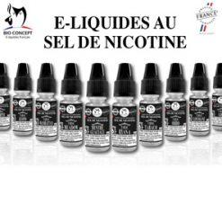 E-liquides Premium SEL DE NICOTINE