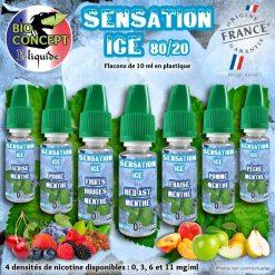 E-LIQUIDES PREMIUM SENSATION ICE